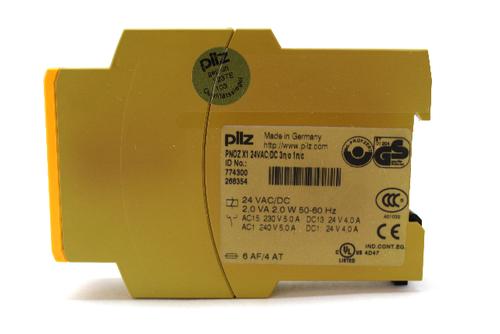 Pilz PNOZ X1 24VAC/DC 3n/o Safety Relay 24 Vac