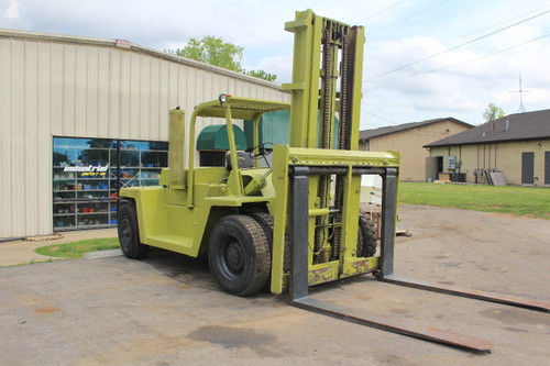 Clark C500-Y225 Forklift 22,500 Lb Capacity Diesel Pneumatic Tire Side Shift