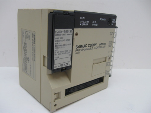 Omron C200H-CPU01-E Cpu Unit