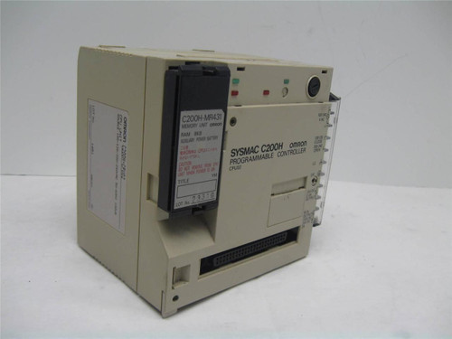 Omron C200H-CPU02 Programmable Controller CPU Unit