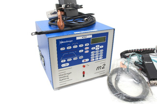 MacGregor Welding Sysems M2-20-3 Resistance Welder 2000 Amp w/ Attachments