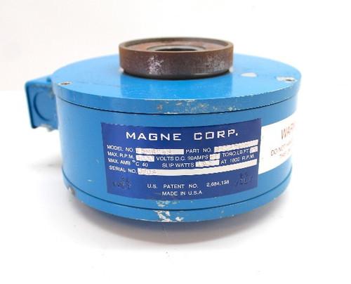 Magne Corp. 25MB24S Electric Brake 750536 Magnetic Particle Brake 24V