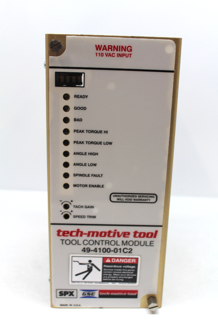 GSE Tech Automotive Tool Controller 49-4100-01C2, Rev L-ODY