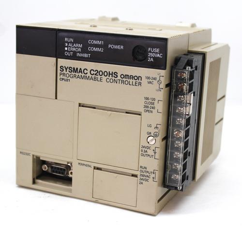 Omron C200HS-CPU21-E Programmable Controller