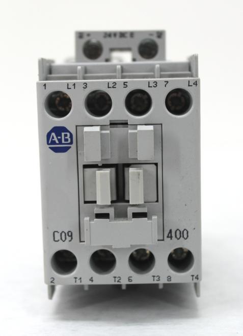 Allen Bradley 100-C09E*400 Ser. A Contactor 24 Vdc Coil