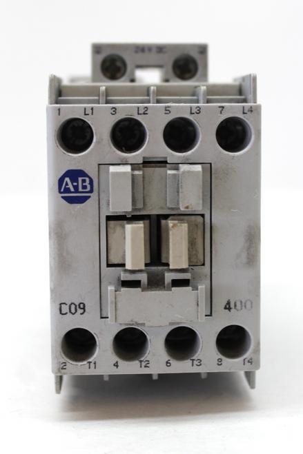 Allen Bradley 100-C09Z*400 Ser. A Contactor, 24V Coil