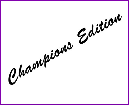 Champion's Edition Kart Package