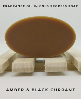 Amber & Black Currant Fragrance Oil - Bulk
