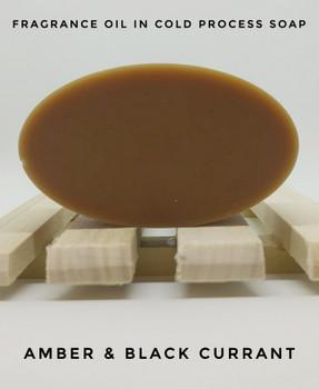 Amber & Black Currant Fragrance Oil - Bulk