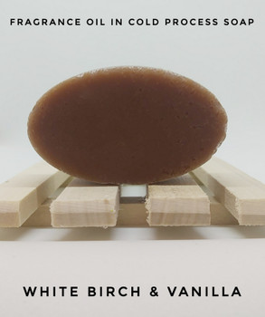 White Birch & Vanilla Fragrance Oil - Bulk