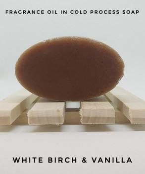 White Birch & Vanilla Fragrance Oil - Bulk