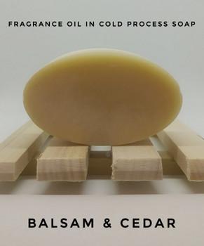Balsam & Cedar Fragrance Oil - Bulk