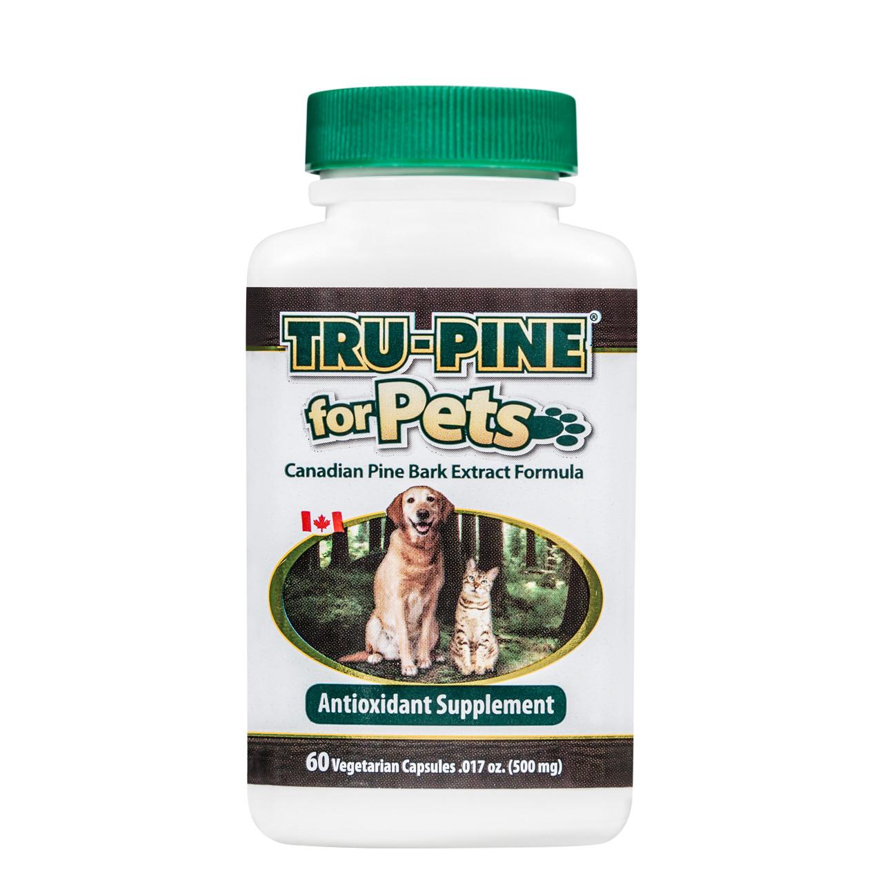 TRU-PINE® for Pets Capsules