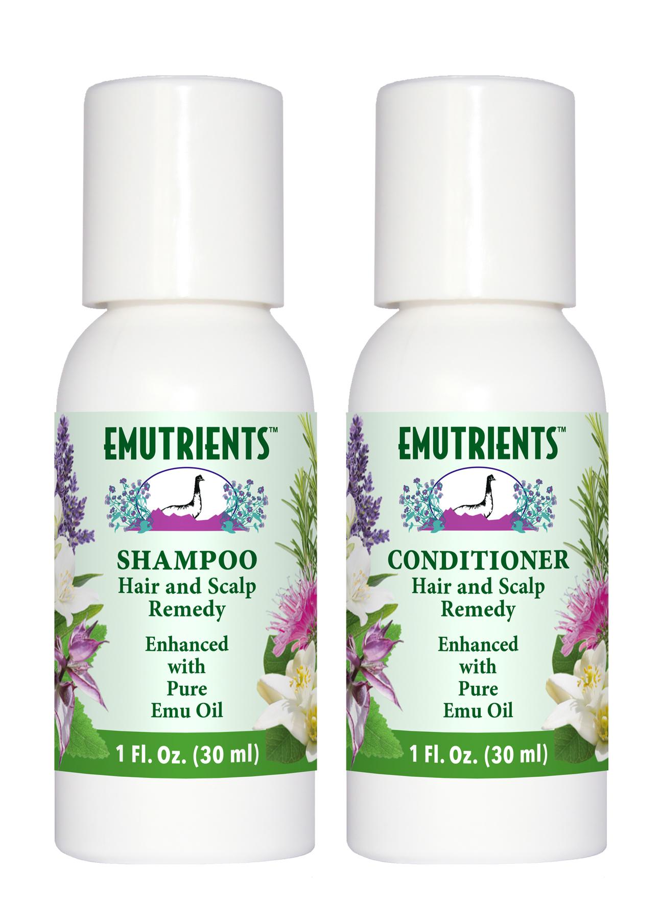 EMUTRIENTS™ Shampoo & Conditioner by Montana Emu Ranch Company
