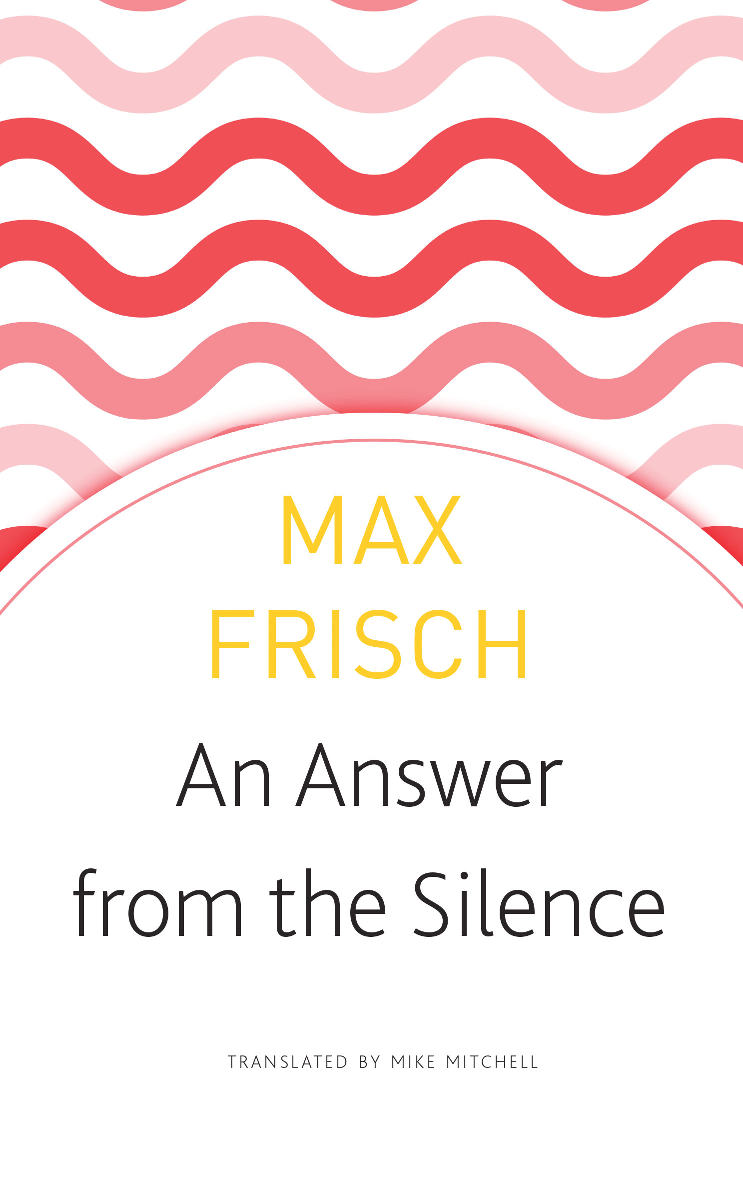An Answer from the Silence by Max Frisch | Seagull Books