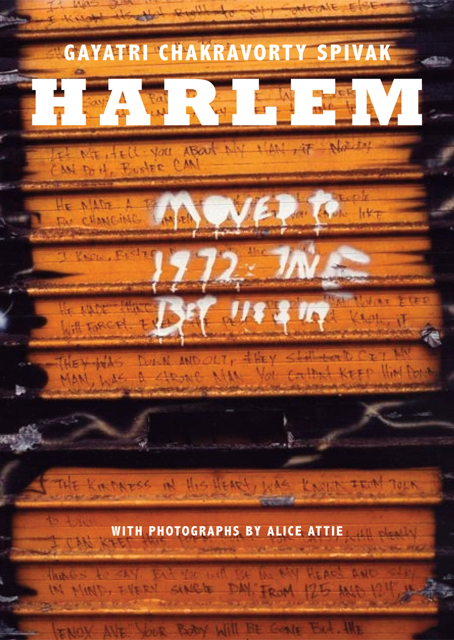 Harlem by Gayatri Chakravorty Spivak | Seagull Books