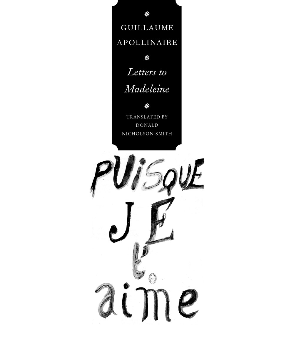Letters to Madeleine by Gillaume Apollinaire | Seagull Books