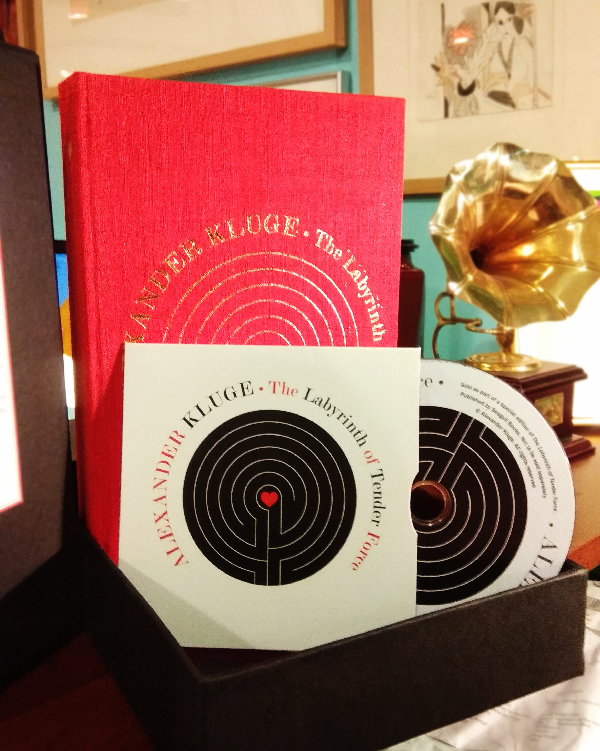 Labyrinth of Tender Force : 166 Love Stories (SPECIAL EDITION) by Alexander Kluge | Seagull Books