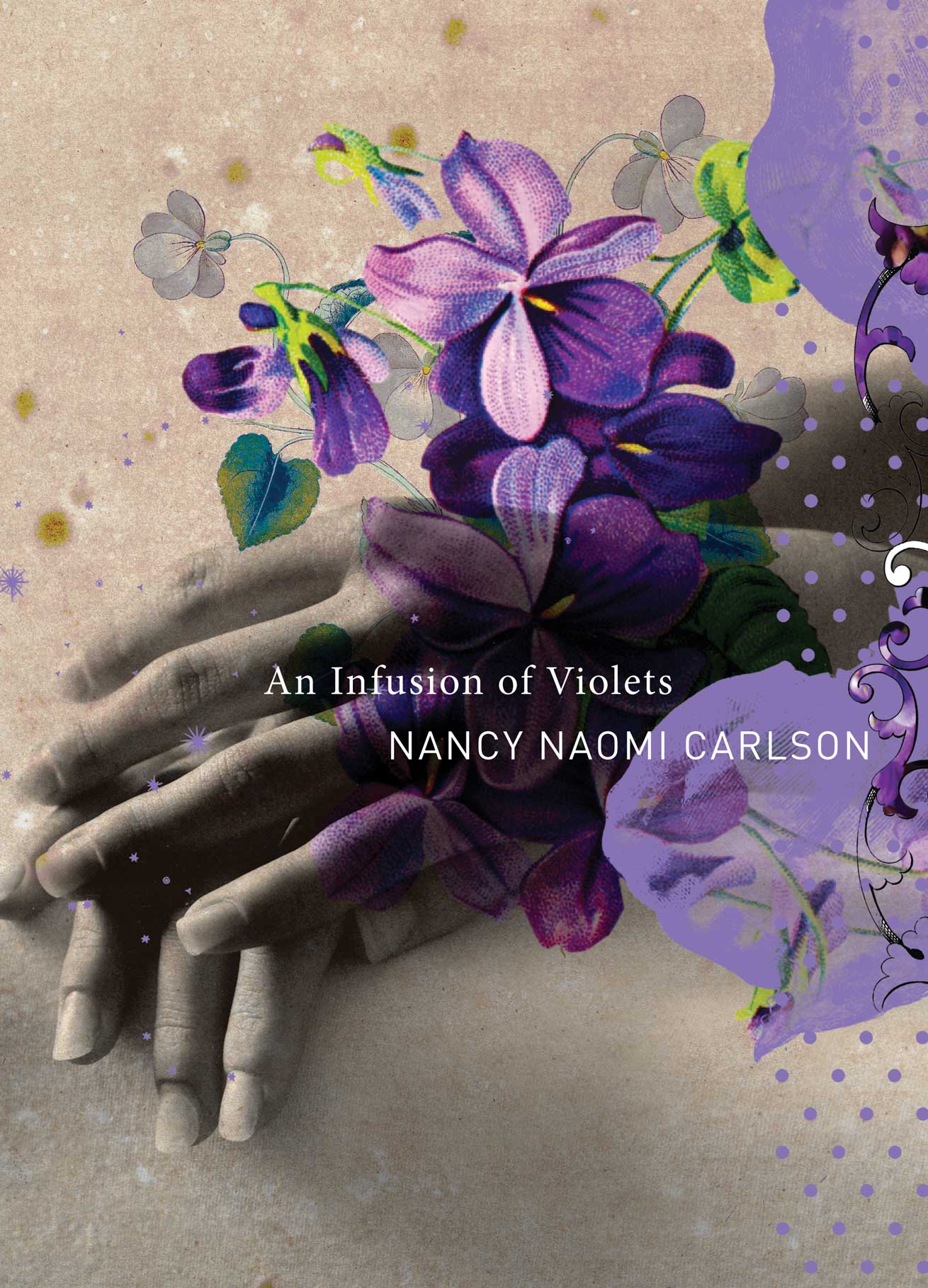 An Infusion of Violets by Nancy Naomi Carlson   Seagull Books