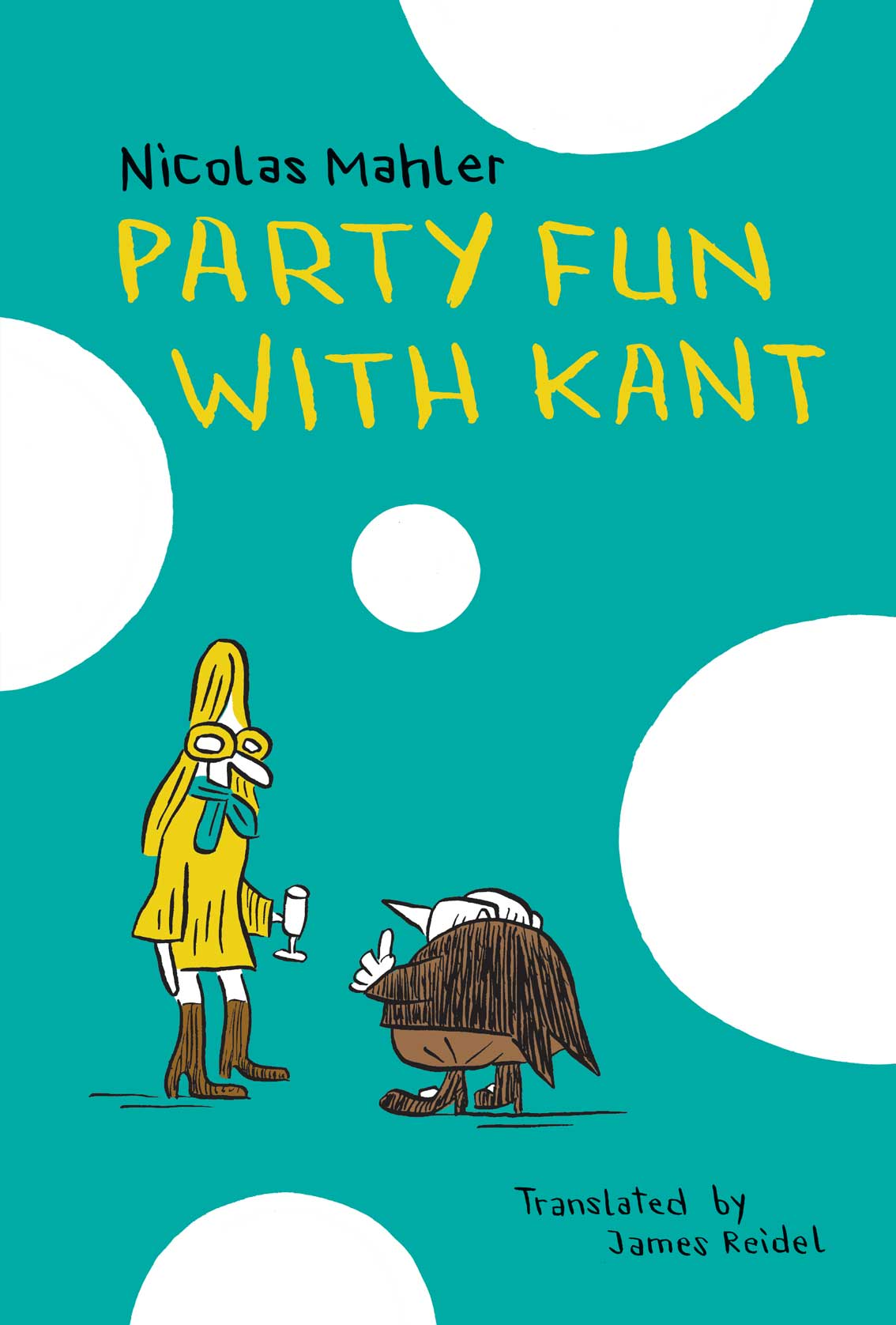 Party Fun with Kant by Nicolas Mahler  | Seagull Books