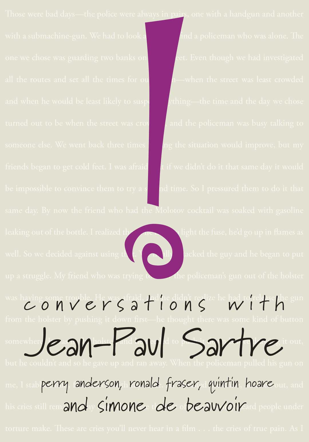 Conversations with Jean-Paul Sartre by Jean-Paul Sartre | Seagull Books