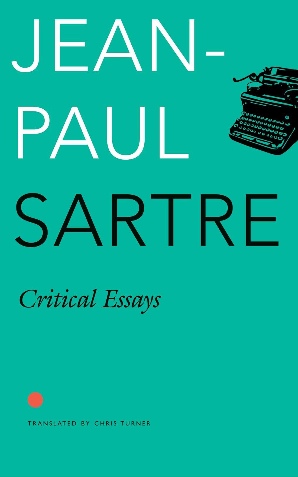 Critical Essays by Jean-Paul Sartre     Seagull Books
