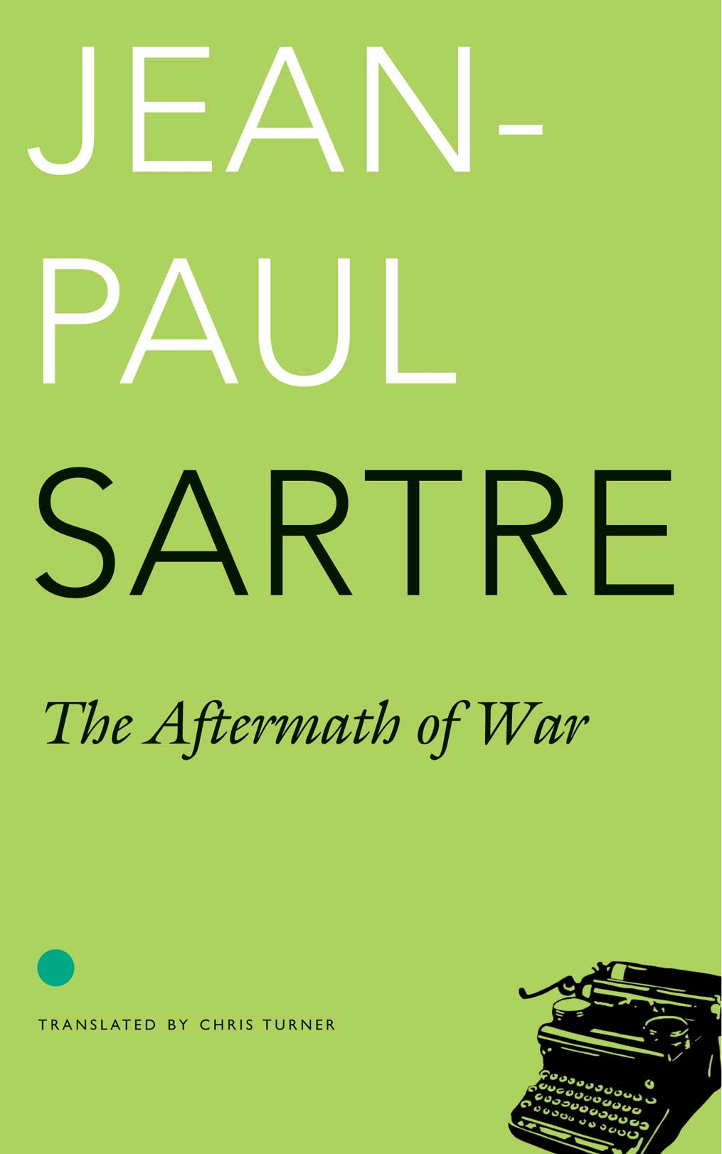 The Aftermath of War by Jean-Paul Sartre  |  Seagull Books