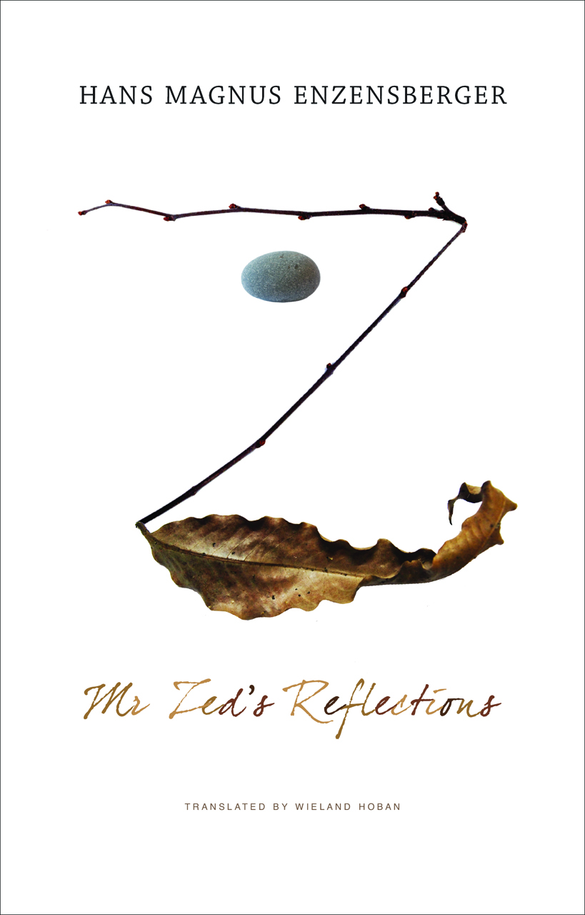 Mr Zed's Reflections by Hans Magnus Enzensberger | Seagull Books