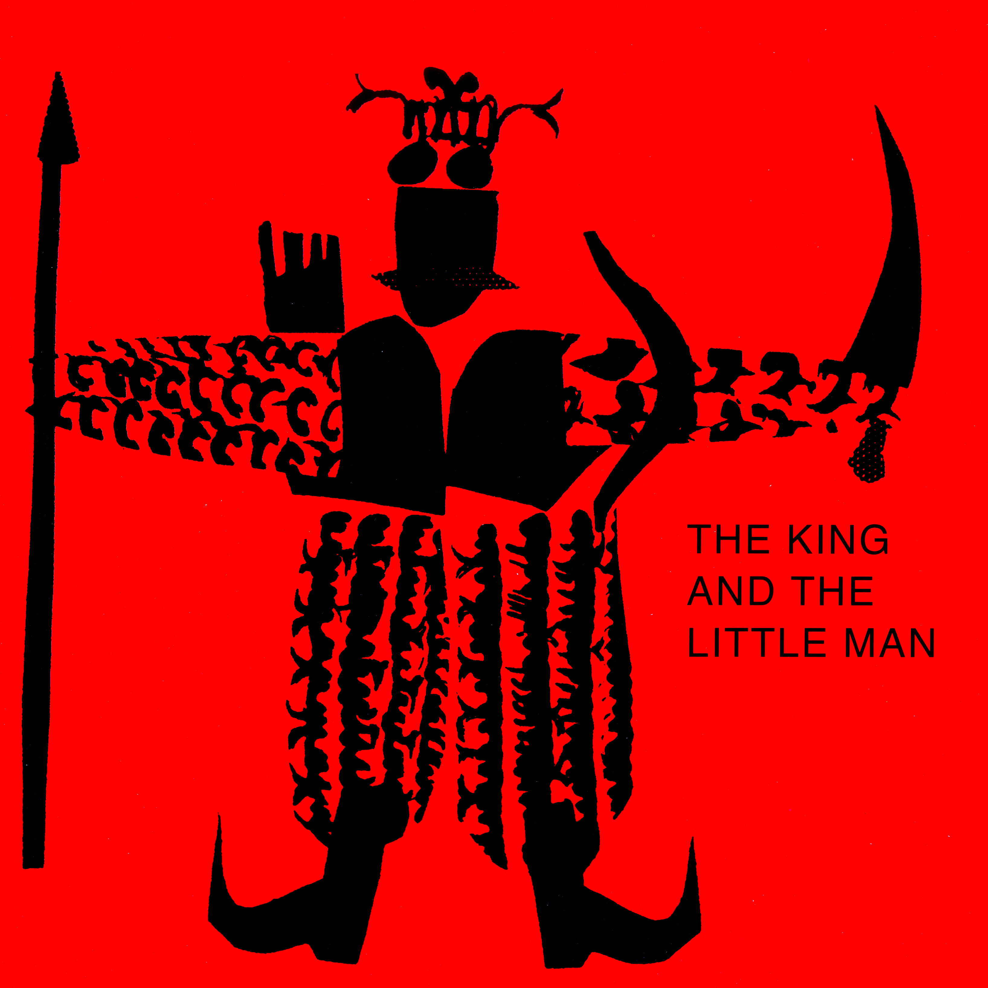 The King and the Little Man by K. G. Subramanyan | Seagull Books