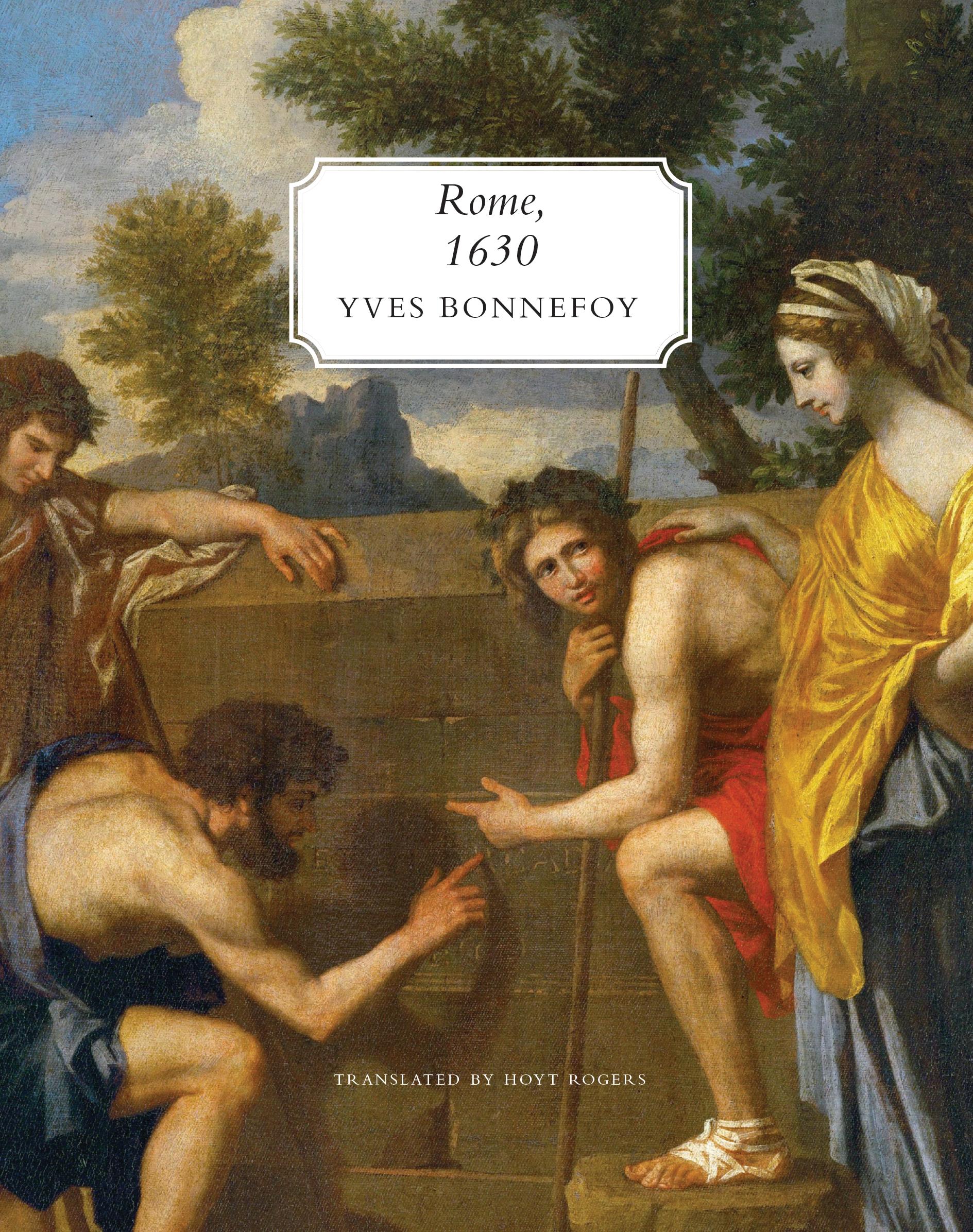 Rome, 1630 by Yves Bonnefoy   Seagull Books