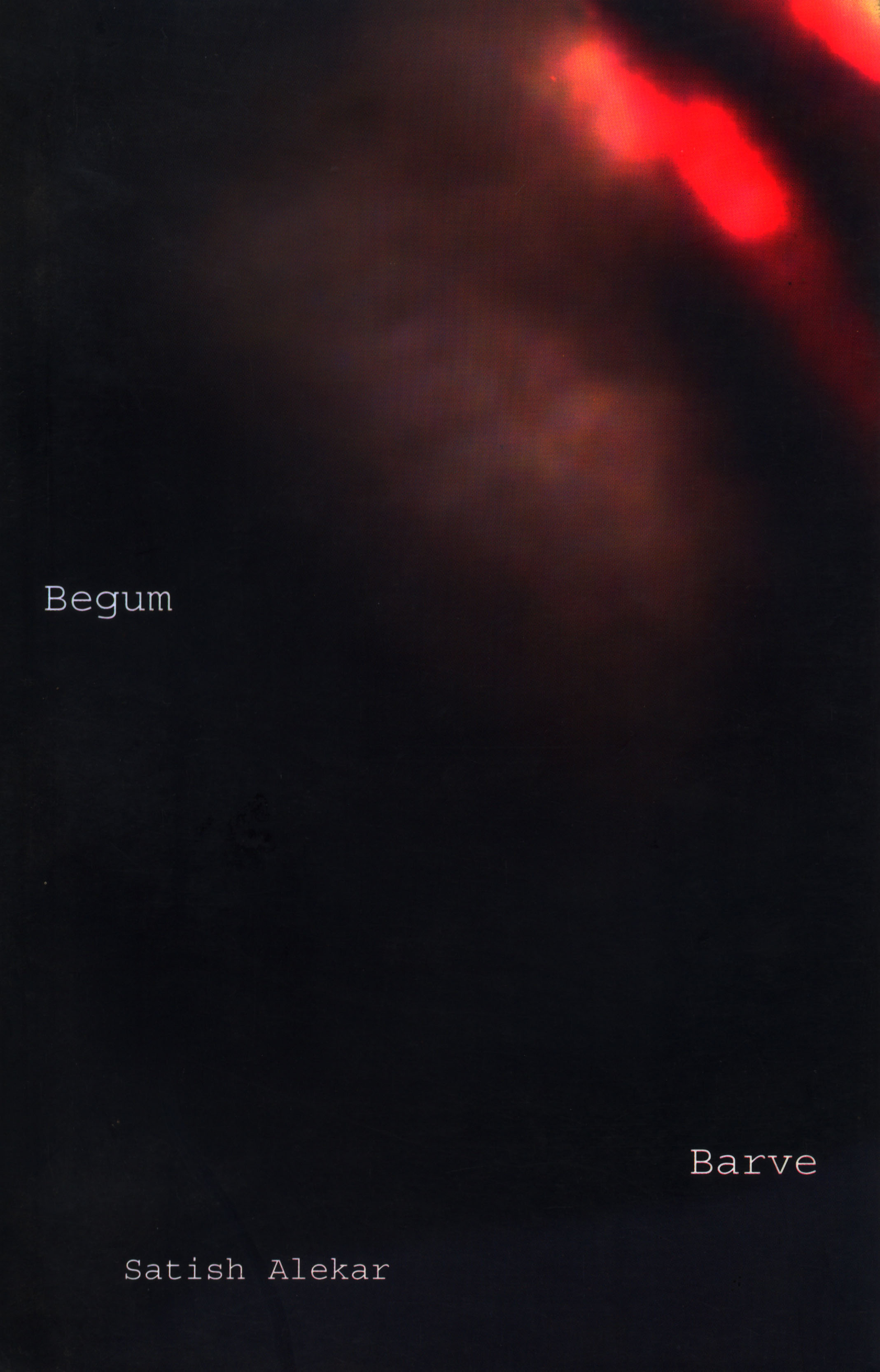 Begum Barve by Satish Alekar | Seagull Books