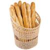 "Polyrattan  Bread Basket, DIA 13 3/4"" X H 16 1/2"""