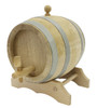 Oak Barrel with Spigot and Stand - 10 Liters