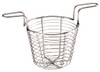 Mini Fry Basket with Two Handles, Stainless Steel