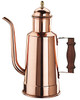 Oil Pourer with Wood Handle Copper