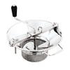 "Food Mill, S/S, #5, W/ 3 Mm S, DIA 14"" X H 10"", 7.5 LBS"