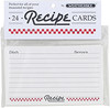 Recipe Cards, 3 x 5, Set of 24