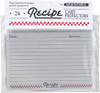 Recipe Cards Protector, 4 x 6, Set of 24