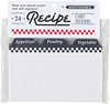 Recipe Cards Dividers, 3 x 5, Set of 24
