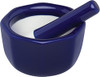 HIC Mortar and Pestle, Cobalt, 3.5in
