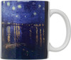 HIC Van Gogh Mug, Over the Rhone, Set of 4