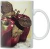 HIC Apples Mugs, Set of 4
