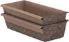 Regency Natural Loaf Pan, Set of 2, 1/2lb