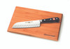 Wusthof Trident 7in Santoku, Hollow Edge w/ Board