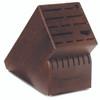 Wusthof Trident 22-Slot Walnut Block