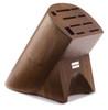 Wusthof Trident 10-Slot Burmese Walnut Block