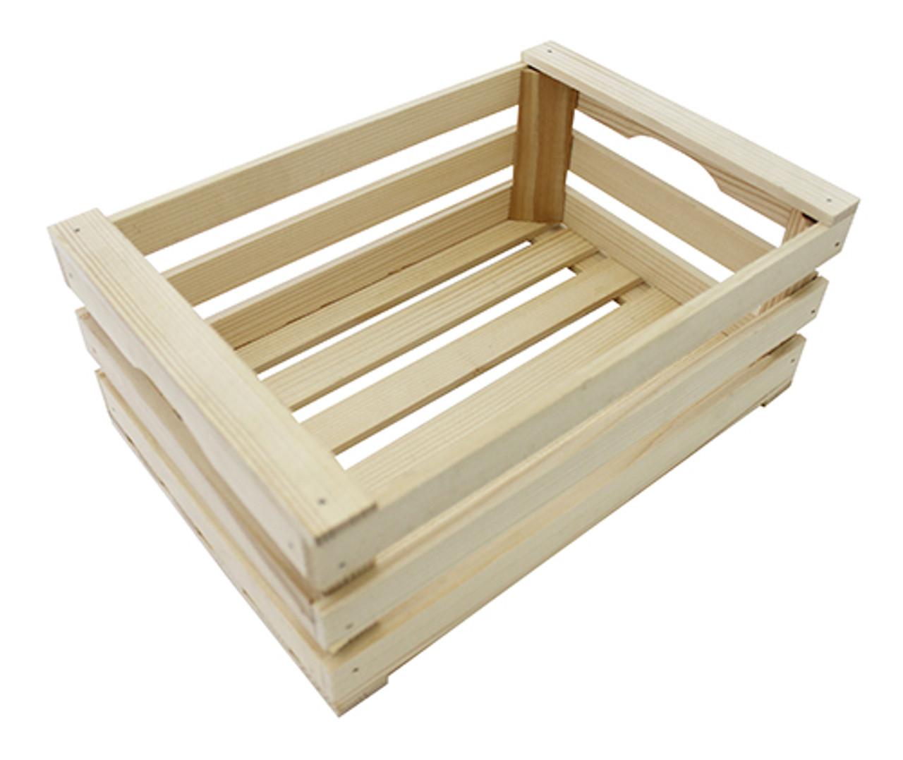Display Crate, Beechwood