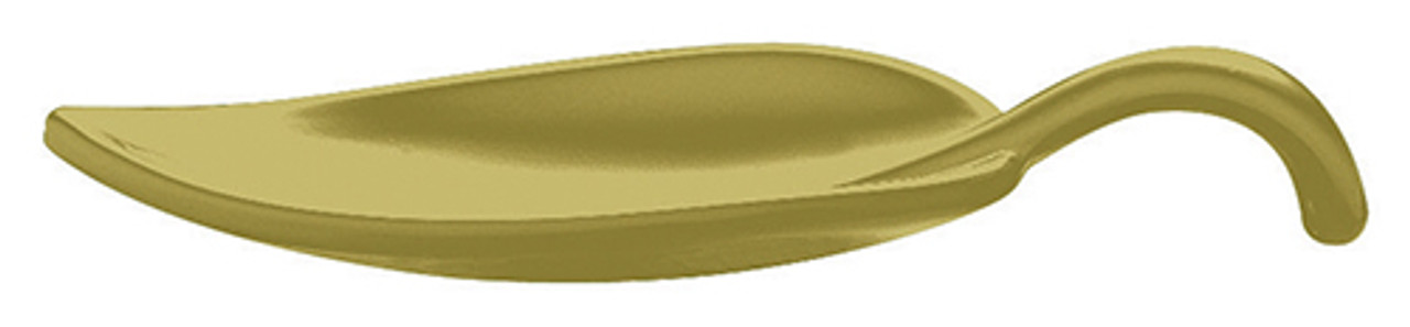 Leaf Appetizer Spoon, Melamine, Green