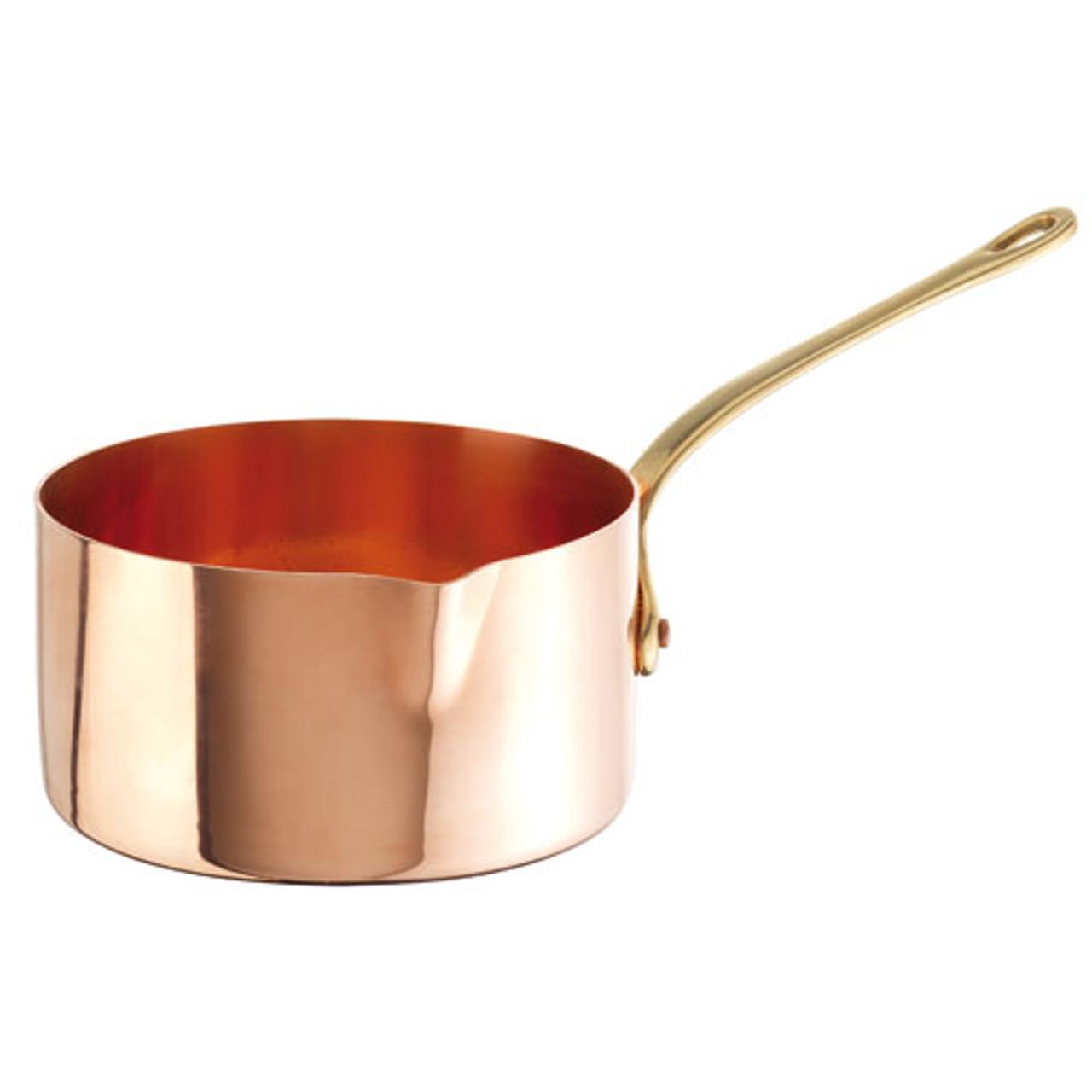 Sugar Pan, Solid Copper, 1 3/4QT