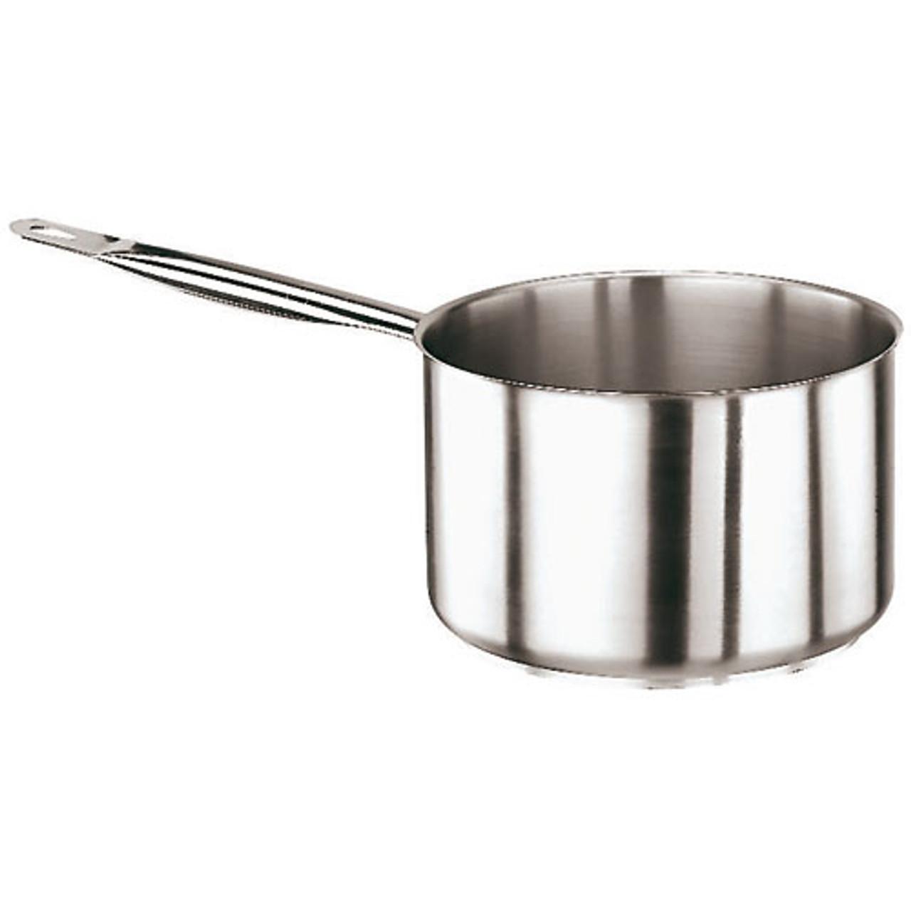 """Low Sauce Pan, S/S, 3 1/4 Qts, Dia 7 7/8"""" x H 4 1/4"""""""